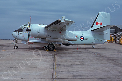 S-2Forg 00005 Lockheed CS2F-1Tracker Canadian Armed Forces McClellan AFB 2 April 1975 by Peter B Lewis