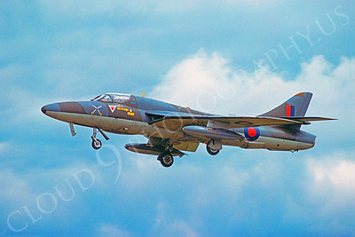 Hawker Hunter 00006 Hawker Hunter British RAF XF995 August 1977 by Wilfried Zetsche
