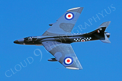 Hawker Hunter 00014 Hawker Hunter British RAF 19 July 2002 by Stephen W D Wolf