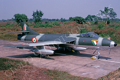 Hawker Hunter 00005 Hawker Hunter Indian Air Force via African Aviation Slide Service