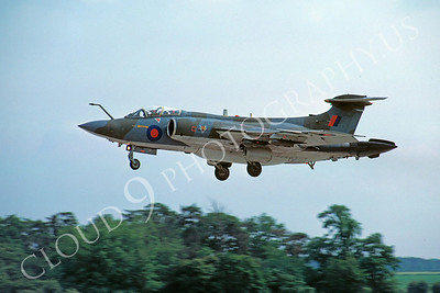 Hawker Siddeley Buccaneer 00006 Hawker Siddeley Buccaneer British RAF 18 June 1978 by Stephen W D Wolf