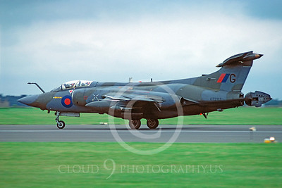 Hawker Siddeley Buccaneer 00007 Hawker Siddeley Buccaneer British RAF XT283 19 June 1982 by Stephen W D Wolf