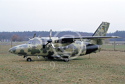 L-410 00001 A static Let Kunovice L-410 Tubolet German Air Force 53 07 4-1991 military airplane picture by Marcus Herbote