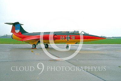EE-F-104FORG 00009 Lockheed F-104 Starfighter German Air Force Nov 1987 by Meinolf Krassert via AASS