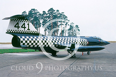 EE-F-104FORG 00003 Lockheed F-104 Starfighter Canadian Armed Forces July 1963 via AASS