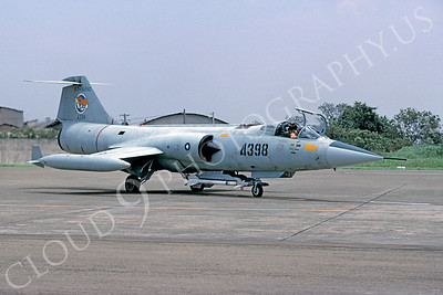 F-104Forg 00005 Lockheed F-104 Starfighter Taiwanese Air Force via African Aviation Slide Service