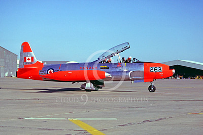 DG 00037 Lockheed T-33 Shooting Star Candian ArmedForces 133263 July 1980 by Peter B Lewis