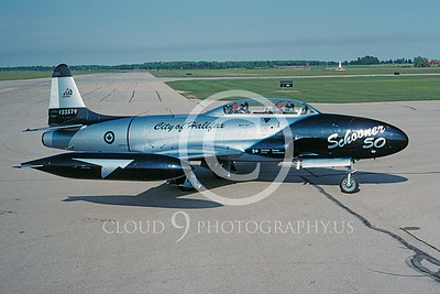T-33Forg 00021 Lockheed T-33 Shooting Star Canadian Armed Forces June 1993 by Peter J Mancus