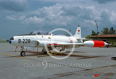 T-33Forg 00017 Lockheed T-33 Shooting Star Turkish Air Force via African Aviation Slide Service