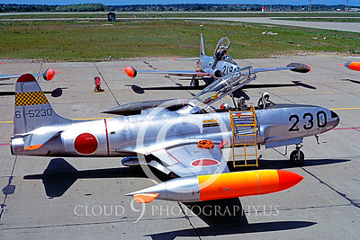 T-33Forg 00009 Lockheed T-33 Shooting Star Japanese 21 May 1975 by Hideki Nagakubo via AASS