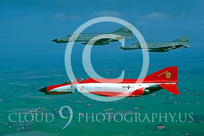 EE-F-4FORG 00022 F-4F German Air Force May 1984 by Wilfried Zetsche from AirDOC Collection
