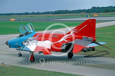 EE-F-4FORG 00027 McDonnell Douglas F-4F Phantom II German Air Force by Raymond Bosselar