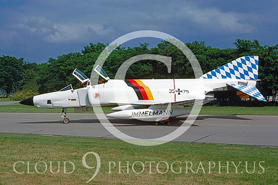 EE-F-4FORG 00021 RF-4 German Air Force July 1984 by Wilfried Zetsche from AirDOC Collection