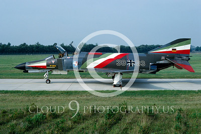 EE-F-4FORG 00023 F-4F German Air Force Sept 1981 by Wilfried Zetsche from AirDOC Collection