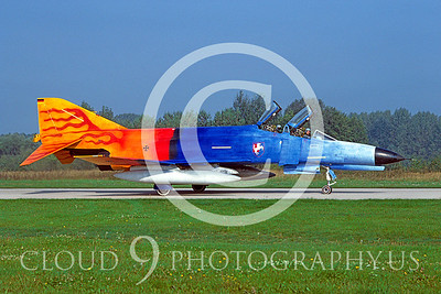 EE-F-4FORG 00005 F-4F German Air Force Sept 1986 by Wilfried Zetsche from AirDOC Collection