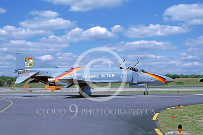 EE-F-4FORG 00001 McDonnell Douglas F-4 Phantom II German Air Force 1984 by Wilfreid Zetseche