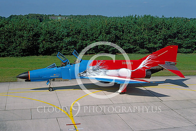 EE-F-4FORG 00012 F-4F German Air Force Sept 1996 by Wilfried Zetsche from AirDOC Collection