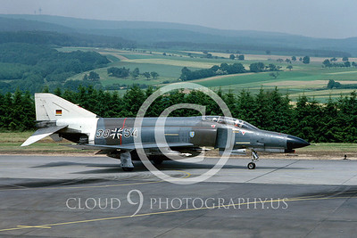 EE-F-4FORG 00024 F-4F German Air Forc July 1984 by Wilfied Zetsche from AirDOC Collection