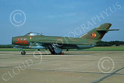 Mikoyan-Guryevich MiG-17 Fresco 00005 A static brown-green East German Air Force MiG-17 Fresco jet fighter, 7-1991, by Wilfried Zetsche 2ND TRY