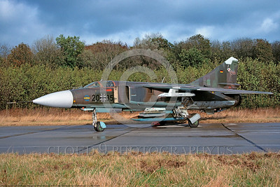 Mikoyan-Guryevich MiG-23 Flogger 00023 A static Mikoyan-Guryevich MiG-23 Flogger jet fighter-bomber German Air Force 2035 military airplane picture via African Aviation Slide Service copy