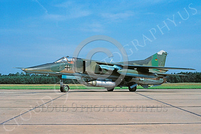 Mikoyan-Guryevich MiG-23 Flogger 00031 Mikoyan-Guryevich MiG-23 Flogger German Air Force 2039 4 July 1991 by Kurt Thomsen