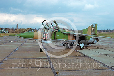 MiG-23 00001 Mikoyan-Gureyvich MiG-23 Flogger Soviet 1992 by Wilfried Zetsche via AirDOC Collection