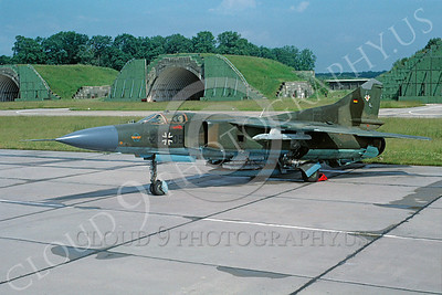 Mikoyan-Guryevich MiG-23 Flogger 00027 Mikoyan-Guryevich MiG-23 Flogger German Air Force via African Aviation Slide Service