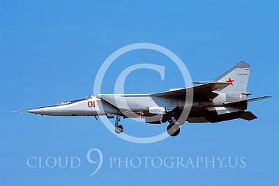 MiG-25 00006 Mikoyan-Gureyvich MiG-25PU Foxbat Soviet 1991 by Wilfried Zetsche AirDOC Collection
