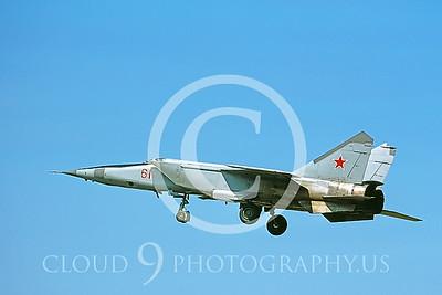 MiG-25 00012 Mikoyan-Gureyvich MiG-25 Foxbat Soviet 1991 by Wilfried Zetsche AirDOC Collection