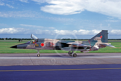Mitsubishi F-1 00001 Mitsubishi F-1 Japanese Self Defense Force F-1 70-8203 9 September 1979 Misawa by Matsumi Wada