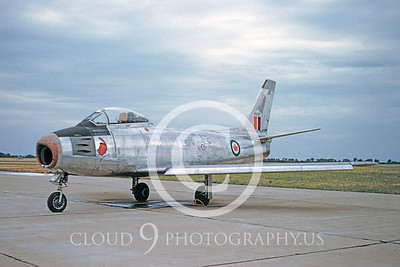 F-86Forg 00019 North American F-86 Sabre Canadian Armed Forces by Warren D Shipp