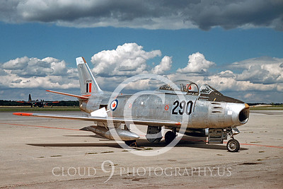 F-86Forg 00013 North American F-86 MK 5 Royal Canadian Air Force by Edgar Deigan