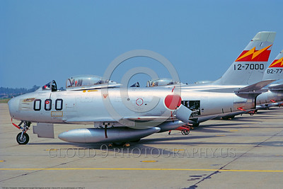 F-86Forg 00017 North American F-86F Sabre Japanese Self Defense Force by Hideki Nagakubo via African Aviation Slide Service DONEwt