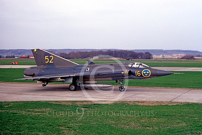 SAAB Draken 00001 SAAB Draken Swedish Air Force by Lars Soldeus