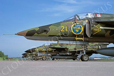 SAAB Viggen 00023 SAAB Viggen Swedish Air Force by H Jvan Broekhuizen