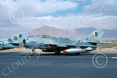 Shenyang F-6 00011 A static Shenyang F-6 (MiG-19) Pakistan Air Force 10610 2-2000 military airplane picture by Keith Woods