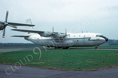 Short Belfast 00001 Short Belfast British RAF April 1977 by Clive Moggoridge