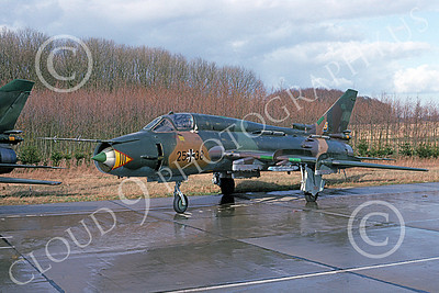 Su-22 00027 A static Sukhoi Su-22 Fitter German Air Force 25 38 4-1993 military airplane picture by Robert Briggs