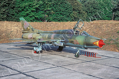 Sukhoi Su-22 Fitter 00007 Sukhoi Su-22 Fitter Hungarian Air Force August 1992 via African Aviation Slide Service