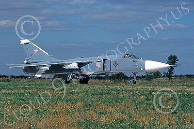 Su-24 00013 A taxing Sukhoi Su-24 Fencer Soviet Air Force 8-2009 military airplane picture by Wilfried Zetsche