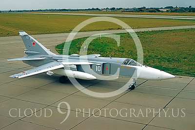 Su-24 00001 Sukhoi Su-24 Fencer Soviet 1992 by Wilfried Zetsche AirDOC Collection