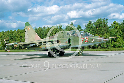Su-25 00003 Sukhoi Su-25 Frogfoot Soviet 1992 by Wilfried Zetsche from AirDOC Collection