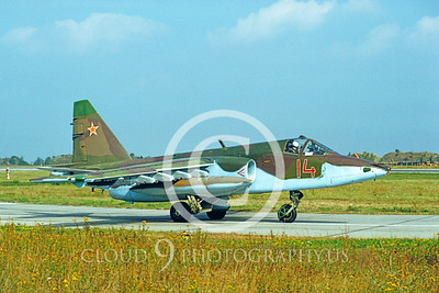 Su-25 00001 Sukhoi Su-25 Frogfoot Soviet 1992 by Wilfried Zetsche via AirDOC Collection