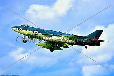 Supermarine Scimitar 002 A landing Supermarine Scimitar, British Royal Navy carrier based strike aircraft, XD214, 6-1968 Hurn, military airplane picture by Stephen W  D  Wolf     853_6112     Dt