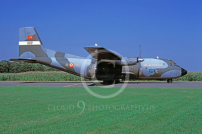 Transall C160 00003 Transall C160 Turkish Air Force 12022 August 1986 via African Aviation Slide Service