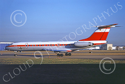 Tu-134 00015 A static Tupolev Tu-134 Crusty German Air Force 11 12 12-1990 military airplane picture by Jim Morrison