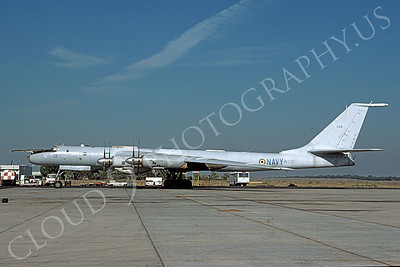Tupolev Tu-142 00002 A static Indian Navy Tupolev Tu-142 Bear strategic bomber 11-1995, by Oscar Dempsey