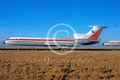 Tupolev Tu-154 00001 Tupolev Tu-154B Czech Air Force 0420 January 1991 via African Aviation Slide Service