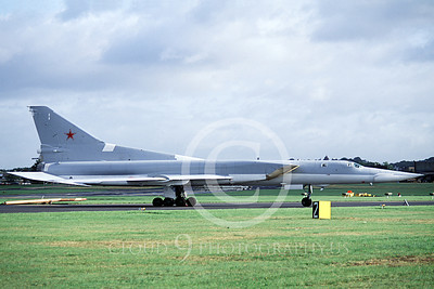 Tu-22M 00011 A taxing Tupolev Tu-22M Backfire Soviet Air Force strategic jet bomber 6-1992 military airplane picture by Terrance Vulber