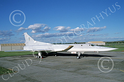 Tupolev Tu-22M Backfire 00004 A static low vis gray Tupolev Tu-22M Backfire jet bomber 7-1998 by Wilfried Zetsche